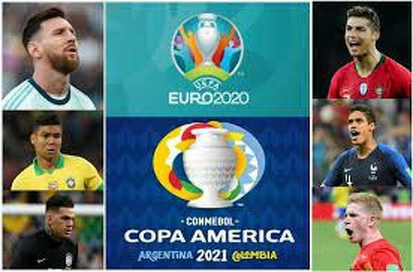 No to który turniej się bardziej podoba? Euro 2020 czy Copa America 2021?