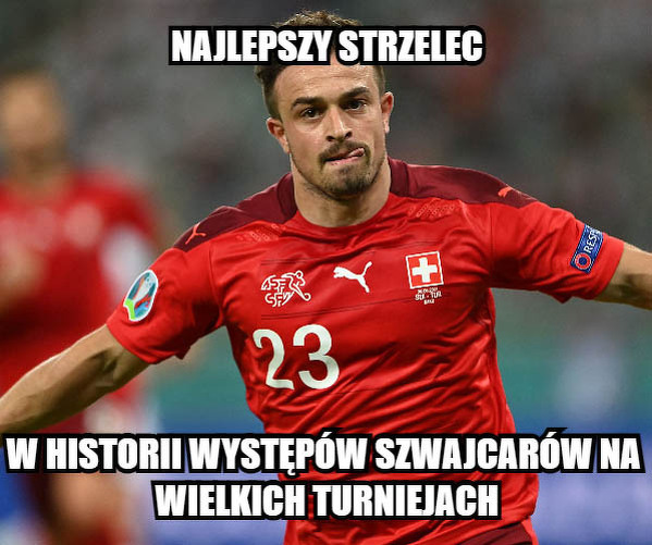 Shaqiri zapisał się w historii szwajcarskiej piłki