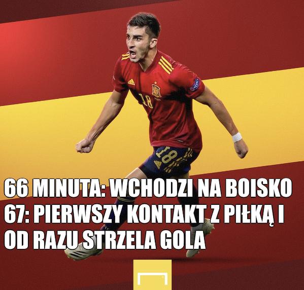 Świetne wejście Torresa w meczu ze Słowacją