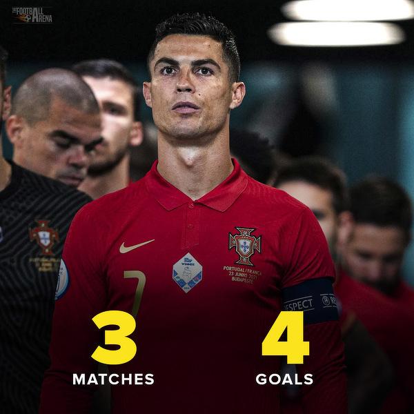 Ronaldo objął prowadzenie w klasyfikacji strzelców EURO