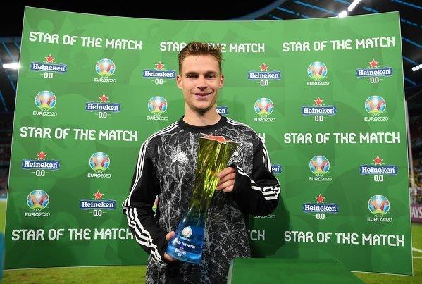 Joshua Kimmich piłkarzem meczu Niemcy - Węgry
