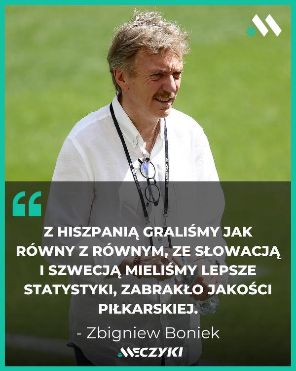 Zbigniew Boniek po porażce ze Szwecją