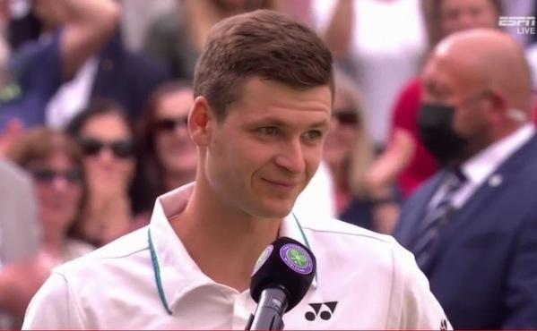 Hubert Hurkacz w półfinale Wimbledonu po pokonaniu Rogera Federera!