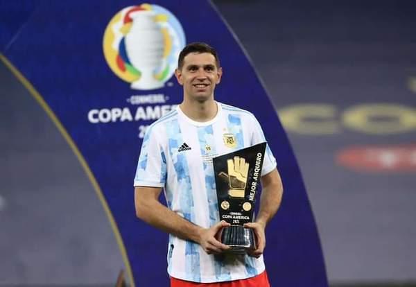 Emiliano Martinez najlepszym bramkarzem Copa America