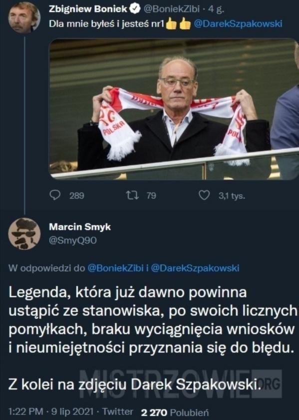 Najlepszy polski komentator w historii