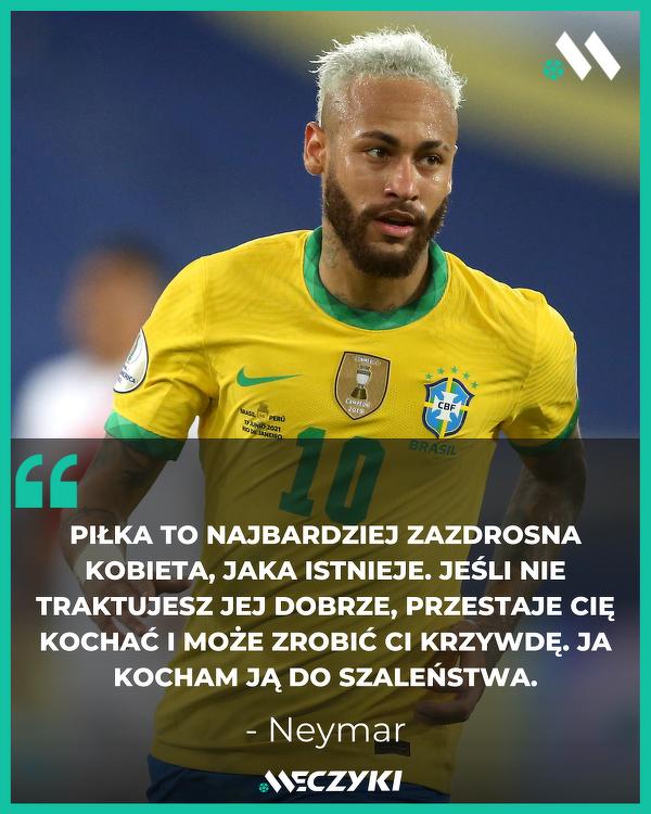 Neymar o swoim podejściu do futbolu