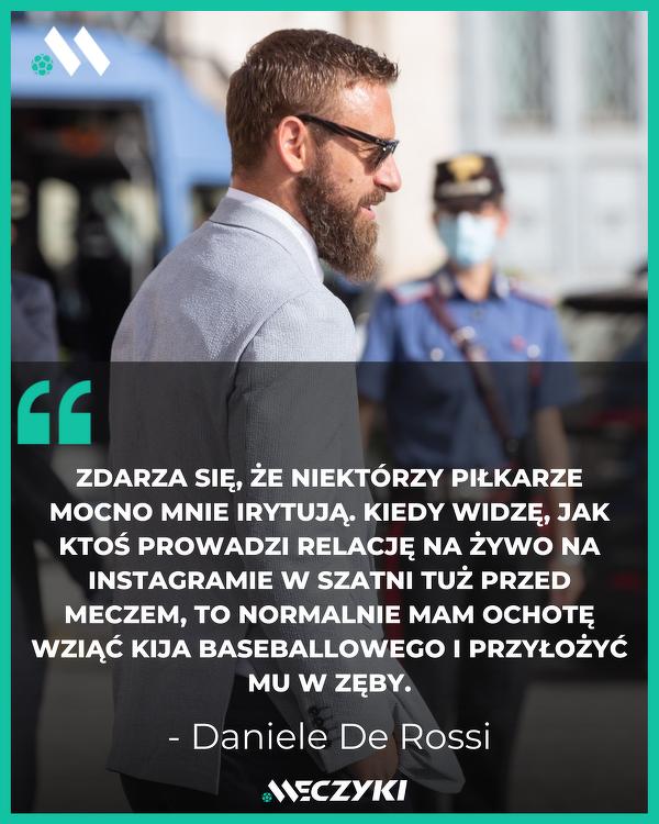 Daniele De Rossi o social mediach