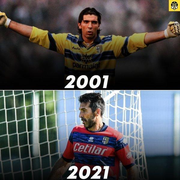 Buffon rozegrał wczoraj pierwszy mecz po powrocie do Parmy