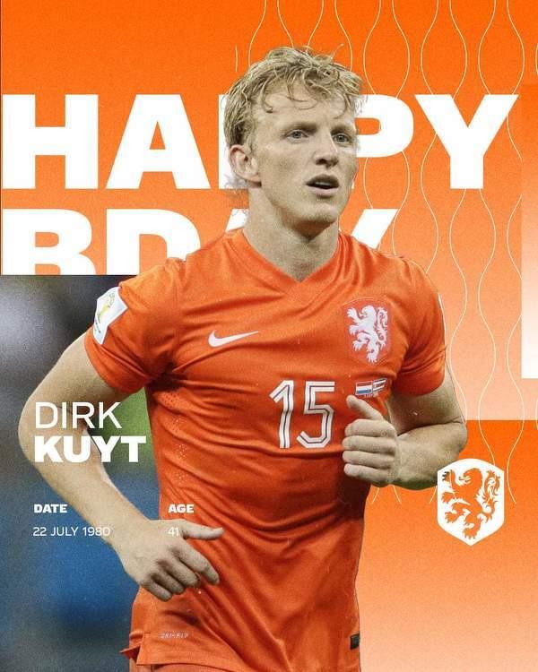 Dirk Kuyt kończy dziś 41 lat