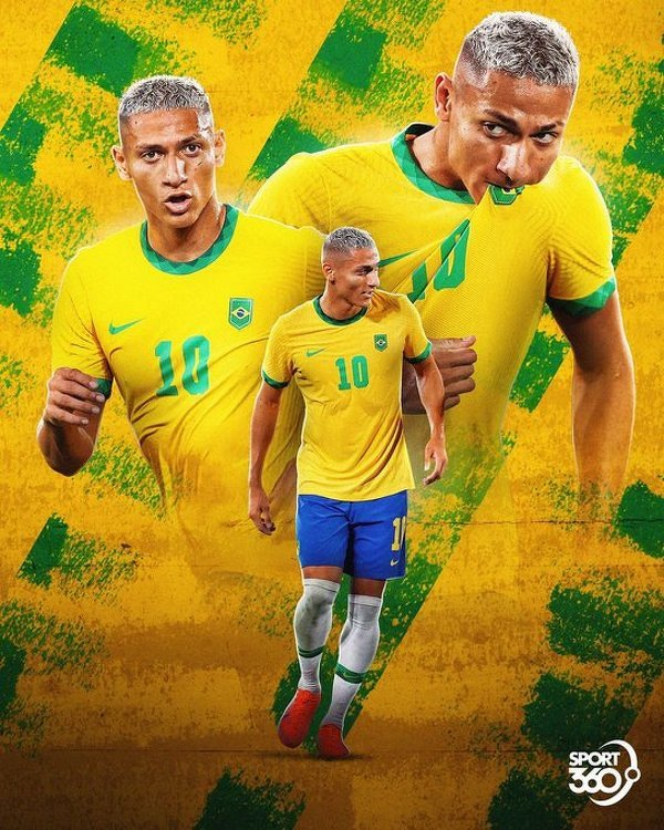 Richarlison został pierwszym Brazylijczykiem od 1996 roku, który zdobył hat-tricka na igrzyskach olimpijskich