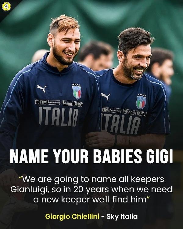 Nazwij swoje dziecko Gianluigi