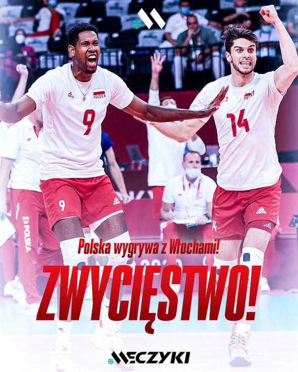Polscy siatkarze pokonali Włochów