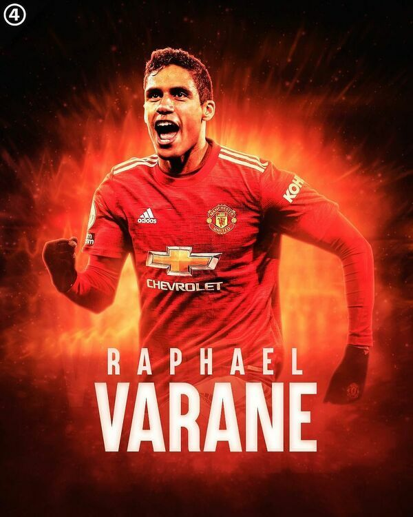 Fabrizio Romano: Transfer Varane'a do Manchesteru United kwestią czasu