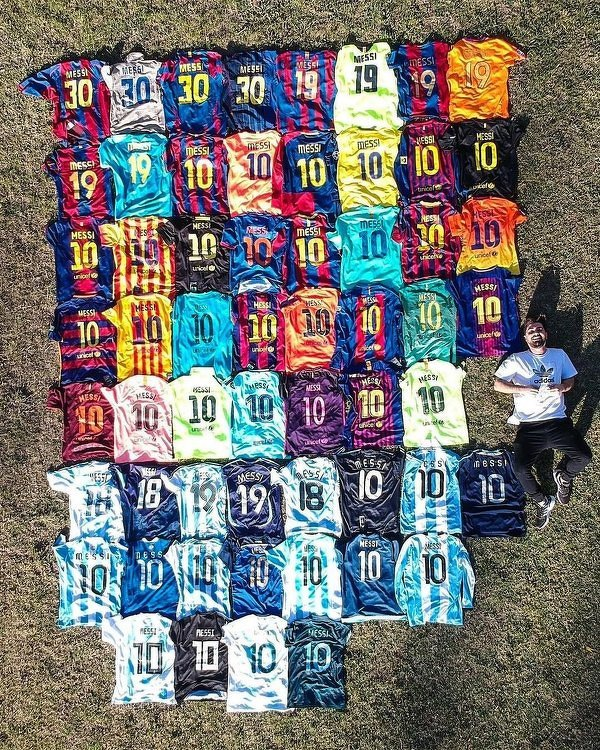 Największy fan Messiego?