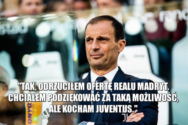 Allegri kocha Juventus