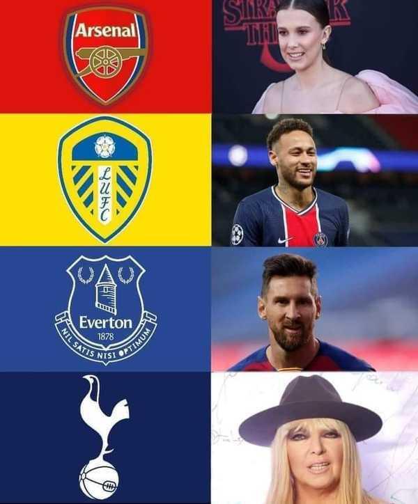 Sławni ludzie urodzeni w roku, w którym dany klub ostatnio wygrał ligę.