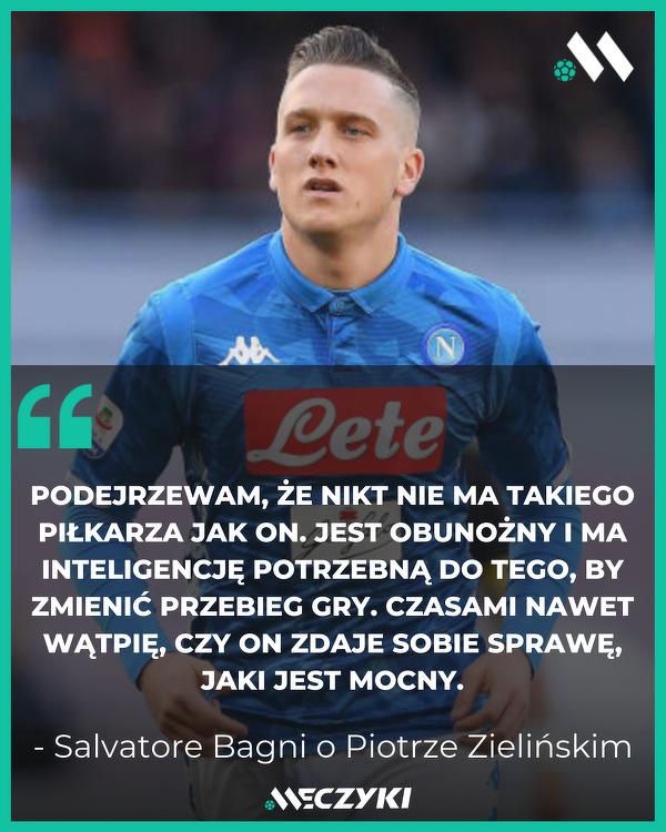 Legenda Napoli o Piotrze Zielińskim