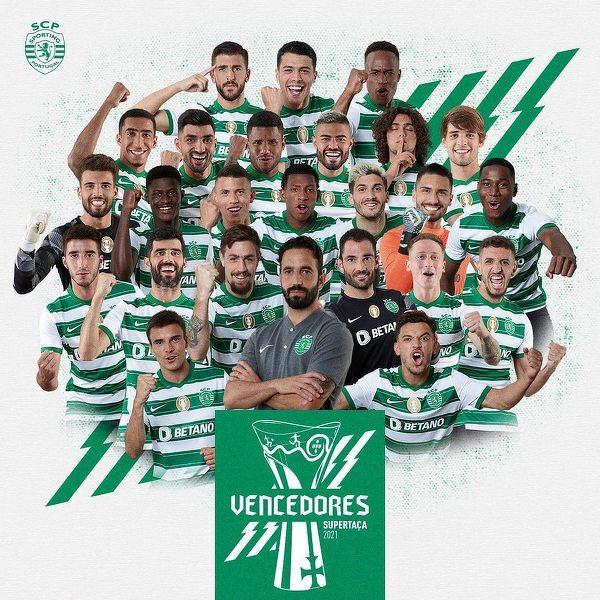 Sporting CP pokonał Bragę 2:1 i po raz 9-ty zdobył Superpuchar Portugalii