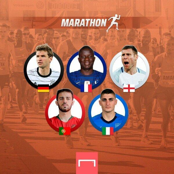 Piłkarze, którzy mogliby przebiec maraton