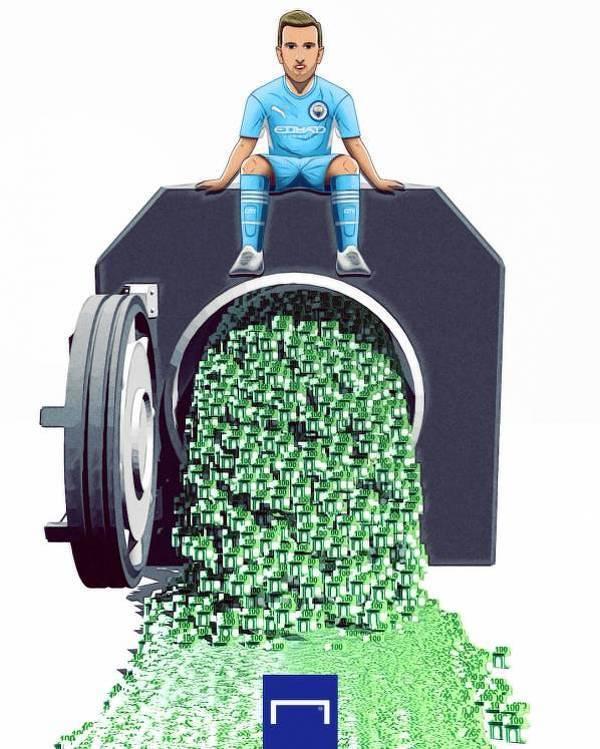 Manchester City gotów wydać miliony na Kane'a