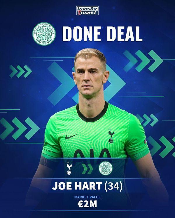 Joe Hart oficjalnie został bramkarzem Celticu