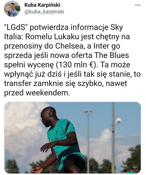 Lukaku wkrótce w Chelsea?