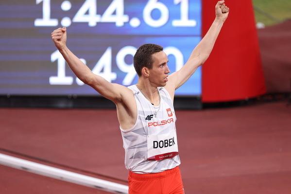 Patryk Dobek zajął trzecie miejsce w biegu na 800 metrów na Igrzyskach Olimpijskich w Tokio