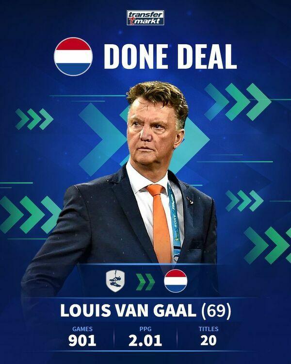 Van Gaal wraca z emerytury