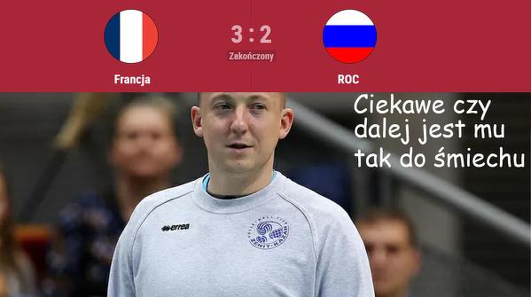 Spridionow tak bardzo się śmiał z Polaków po porażce z Francją