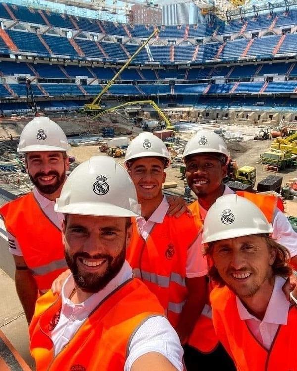 Piłkarze Realu odwiedzili Santiago Bernabeu