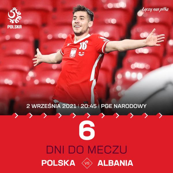 Już tylko 6 dni dzieli nas od meczu Polska - Albania w eliminacjach do Mistrzostw Świata w Katarze!