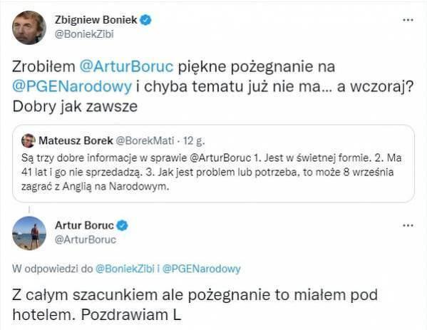 Artur Boruc zgasił Zbigniewa Bońka