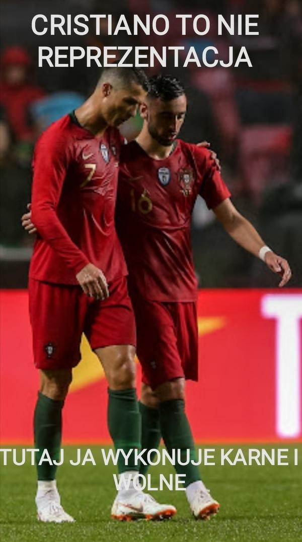 Bruno Fernandes jakby transfer Ronaldo do United doszedł do skutku