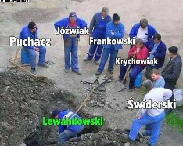 Polska Reprezentacja w meczu przeciwko Albanii