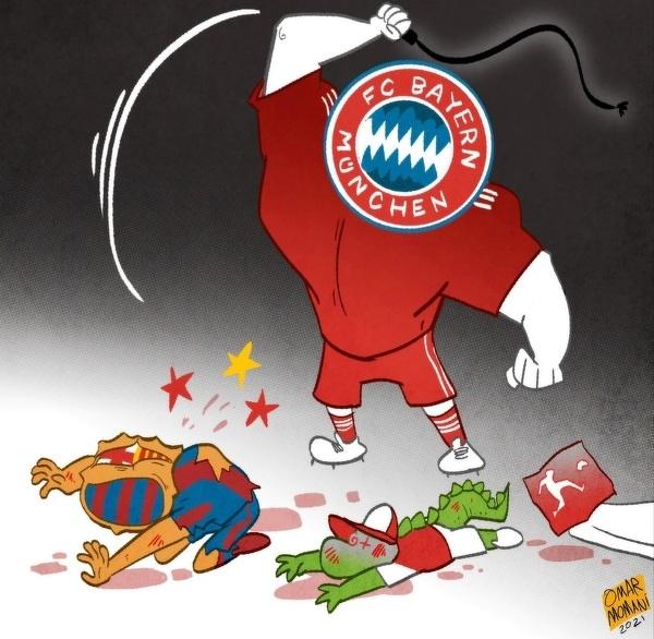 Bayern w Lidze Mistrzów