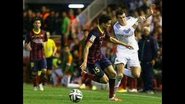 Rajd Muciego w końcówce meczu ze Spartakiem przypomniał znaną akcję Bale'a