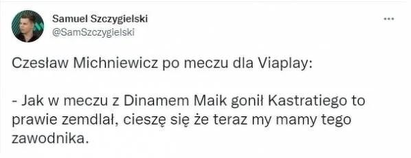 Czesław Michniewicz o Kastratim