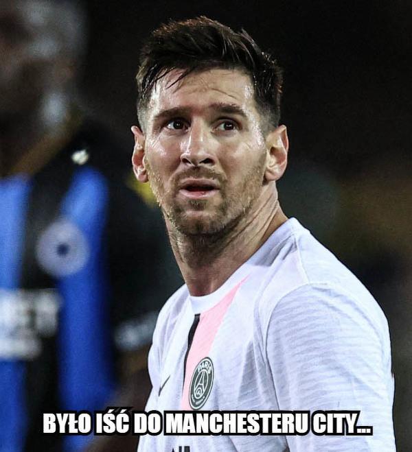 Rozkmina Messiego po remisie z Club Brugge
