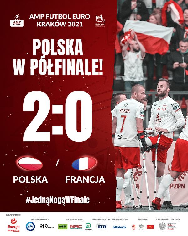 ME w amp futbolu: Polacy w półfinale!