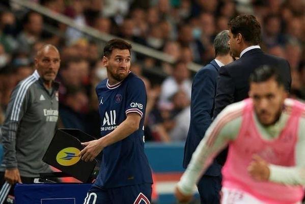 Messi został zmieniony i nie podał ręki Pochettino