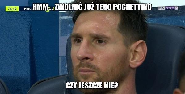 O tym Messi myślał siedząc na ławce