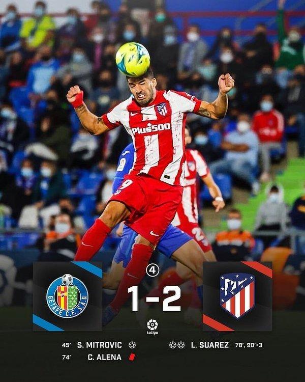 Atletico wyrwało 3 punkty