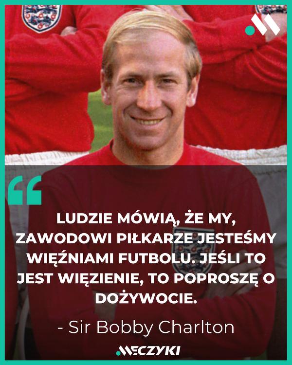 Sir Bobby Charlton o futbolu