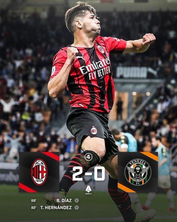 Milan zdobywa kolejne 3 punkty