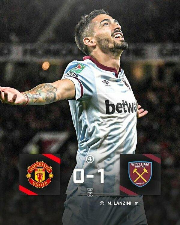 West Ham zrewanżował się Manchesterowi United za poprzedni mecz