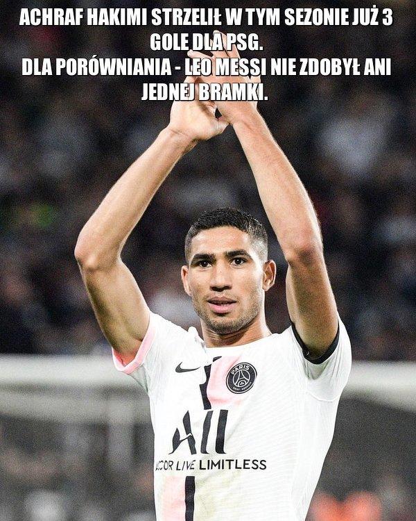 Hakimi najlepszym transferem PSG?