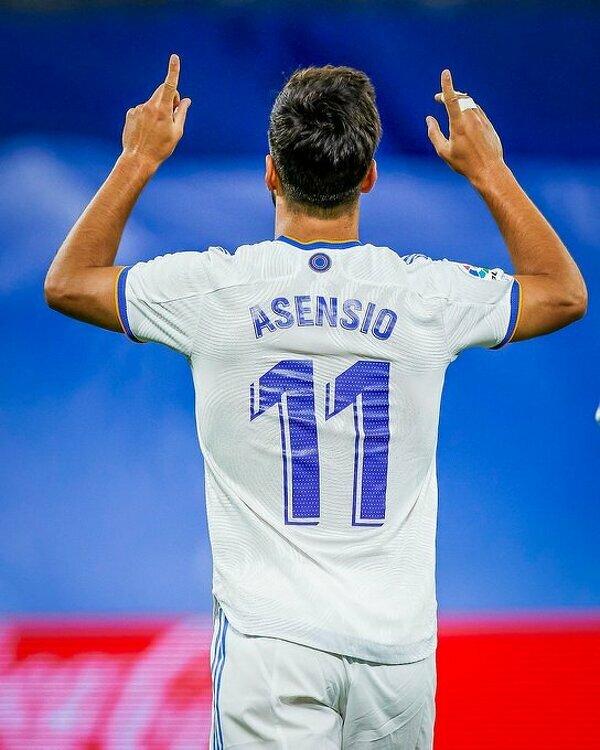 Marco Asensio ustrzelił dziś hat-tricka
