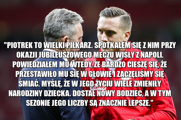 Jerzy Brzęczek odniósł się do swoich słynnych słów o Zielińskim