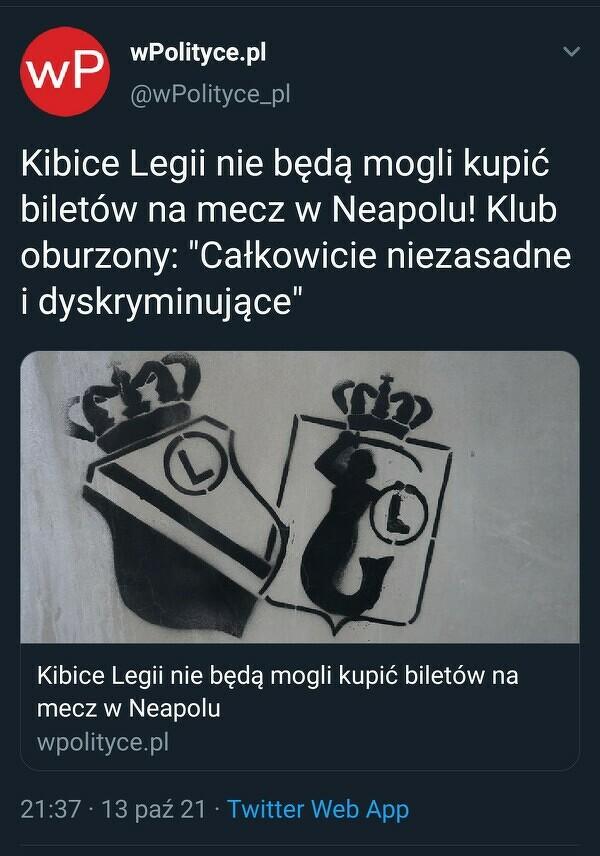 Dyskryminacja polskich kibiców