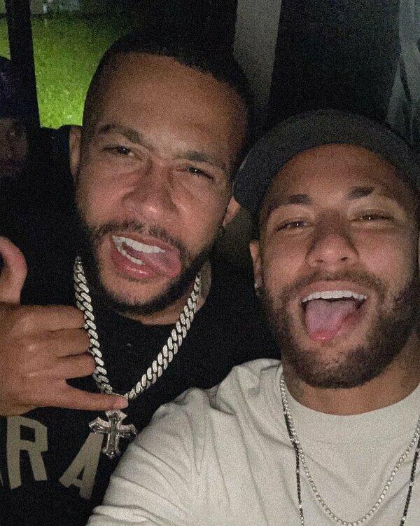 Neymar spotkał się z Depayem